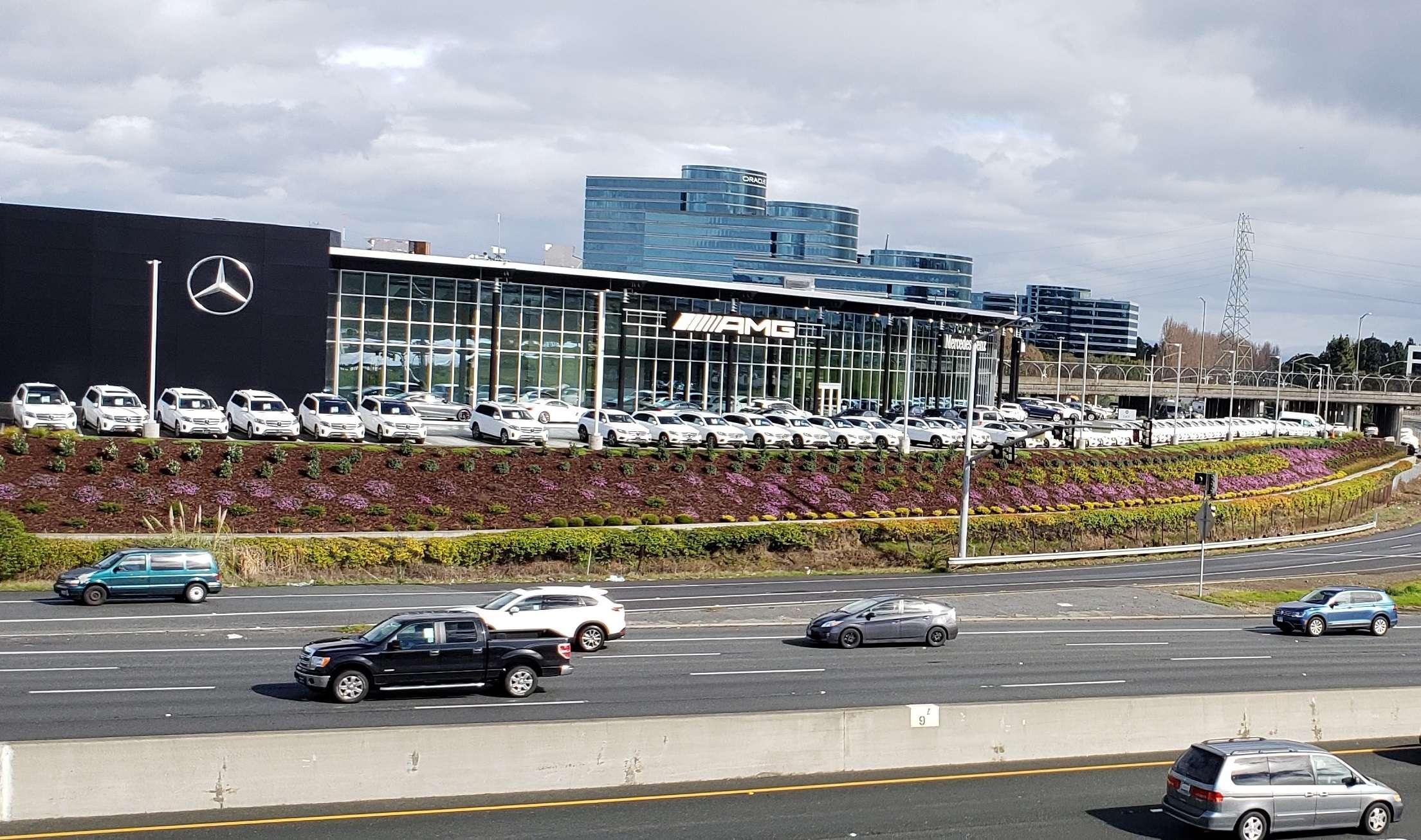 Underwood and Rosenblum Project - Autobahn Motors Mercedes-Benz Dealership, Belmont