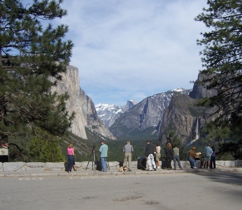 Tunnel View Overlook Yosemite